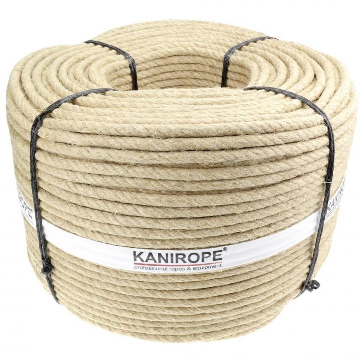 Corde chanvre HEMPTWIST ø5mm 3-torons torsadée de Kanirope®