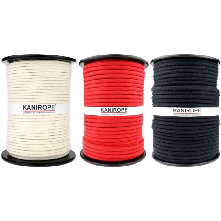 Corde coton COBRAID ø8mm 16x tressée de Kanirope®