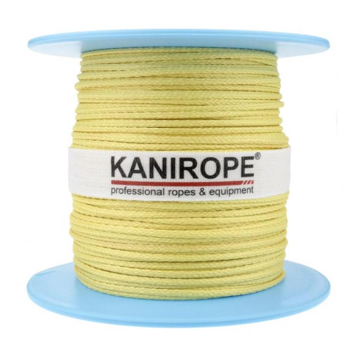 Corde aramide ARABRAID ø2mm 16x tressée de Kanirope®