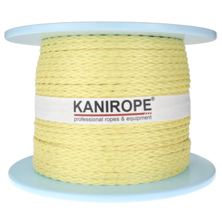 Corde aramide ARABRAID ø4mm 8x tressée de Kanirope®