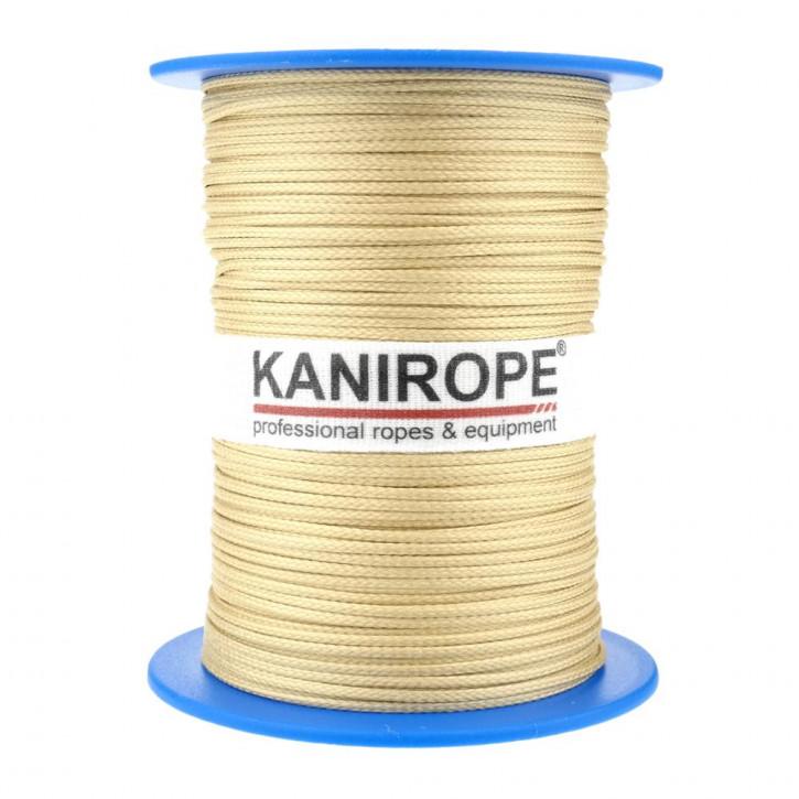 Corde aramide ARABRAID ø0,4mm 500m 6x tressée de Kanirope®