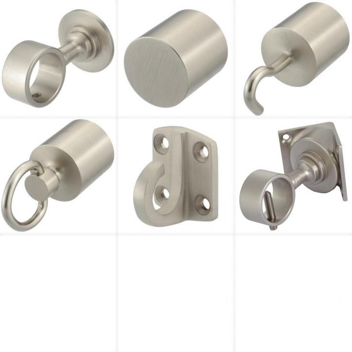 """Accessoires pour barriere corde """"Nickel mat"""" de Kanirope®"""