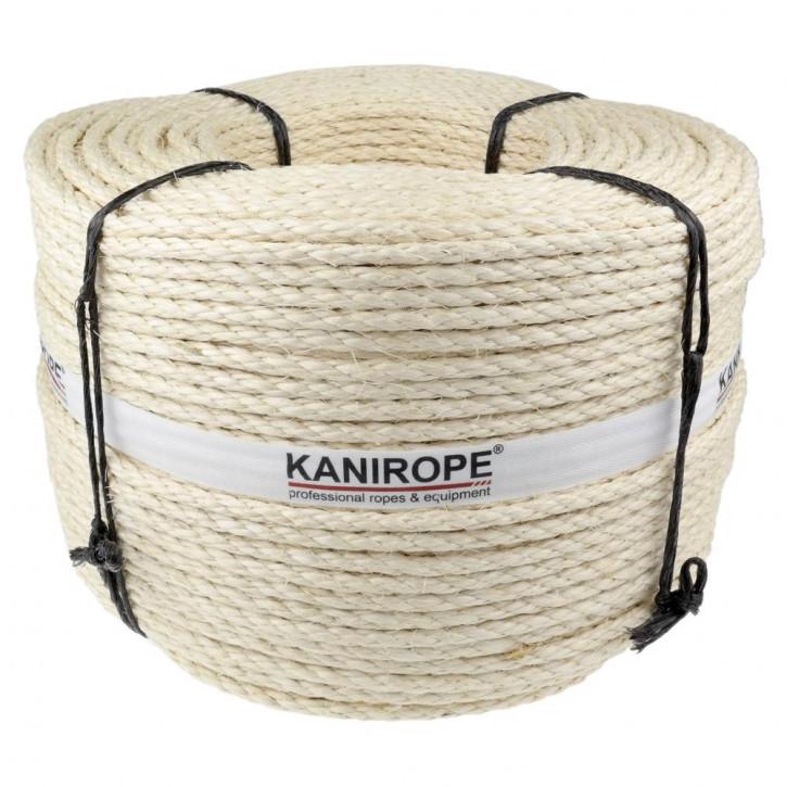 Corde sisal AGAVE ø5mm 3-torons torsadée de Kanirope®