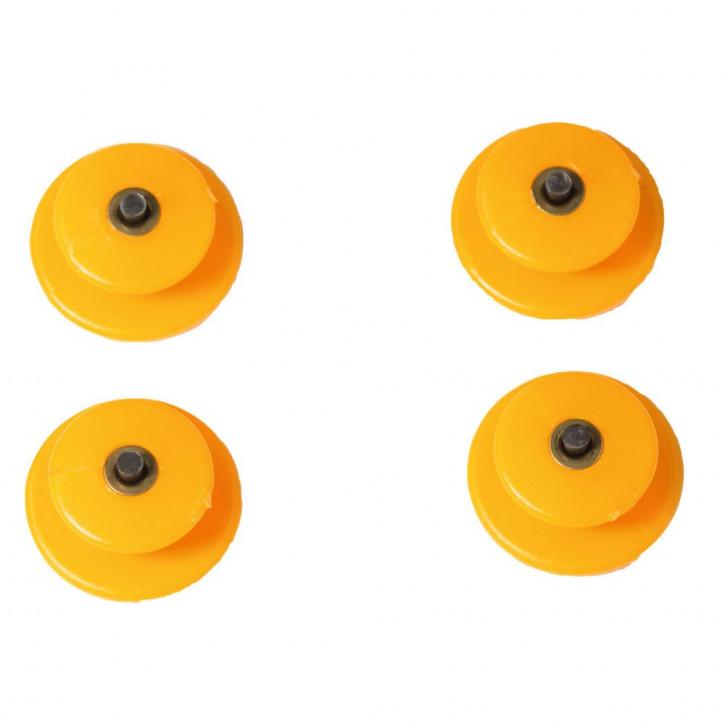 4 Semelles antidérapantes de talons pour SPIKY PLUS Petzl®