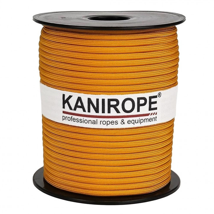 Paracord 550 XPRO ø3,8mm or tressée de Kanirope®