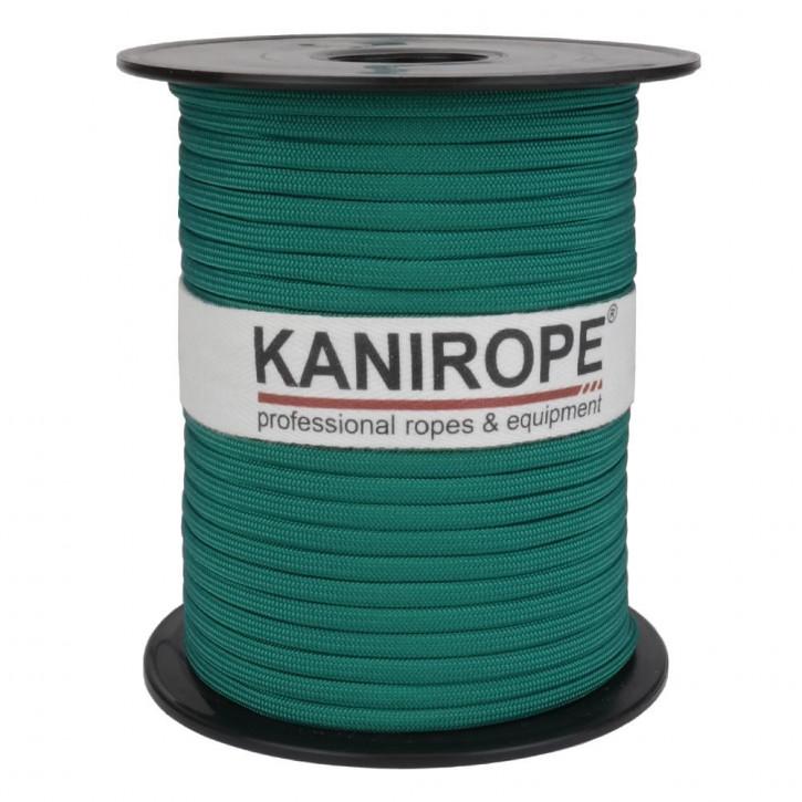 Paracord 550 XPRO ø3,8mm vert tressée de Kanirope®