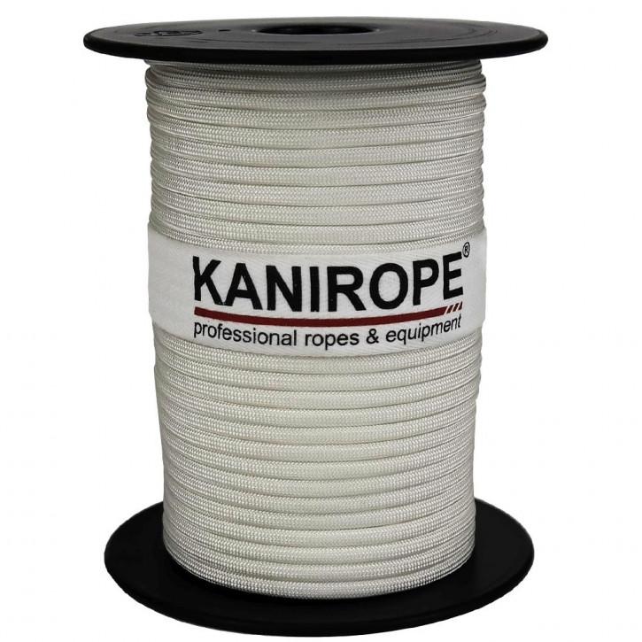 Paracord 550 XPRO ø3,8mm blanc tressée de Kanirope®
