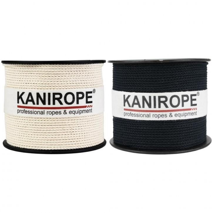 Corde coton COBRAID ø1mm 8x tressée de Kanirope®