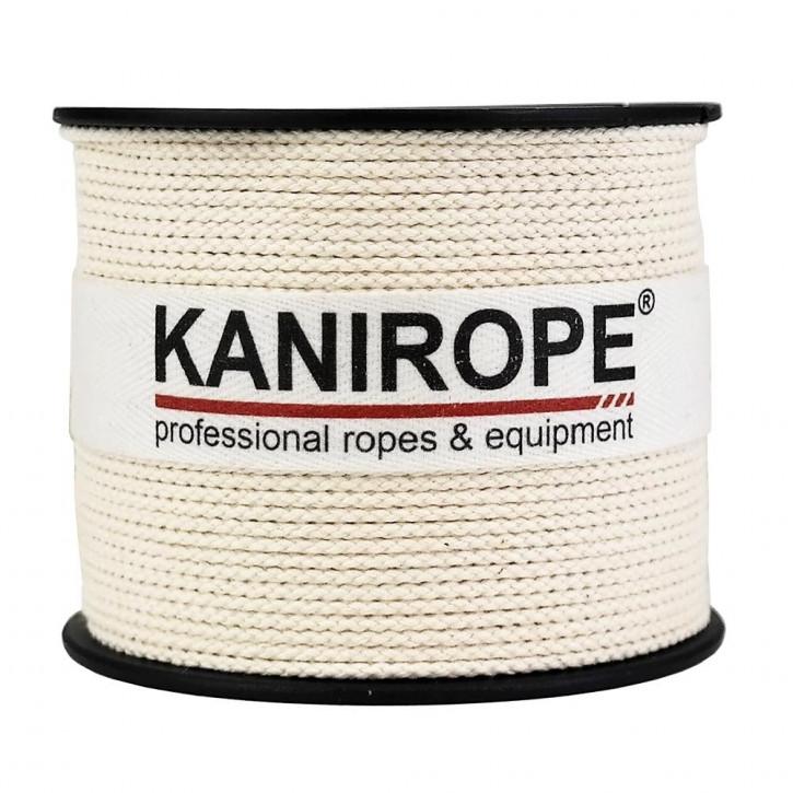 Corde coton COBRAID ø1mm 500m blanc crémeux 8x tressée de Kanirope®