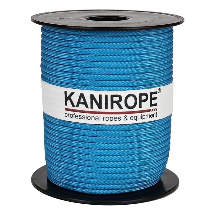 Paracord 550 XPRO ø3,8mm turquoise tressée de Kanirope®