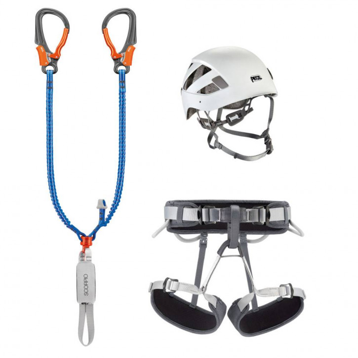 KIT VIA FERRATA EASHOOK de Petzl®