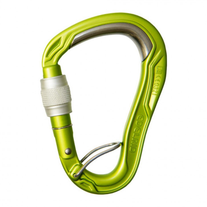 Mousqueton HMS BULLETPROOF SCREW FG d'Edelrid®