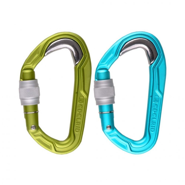 Mousqueton BULLETPROOF SCREW d'Edelrid®