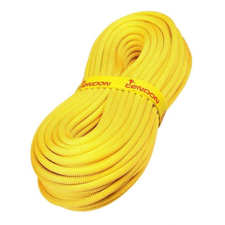 Corde d'escalade TRUST ø11,4mm jaune de Tendon