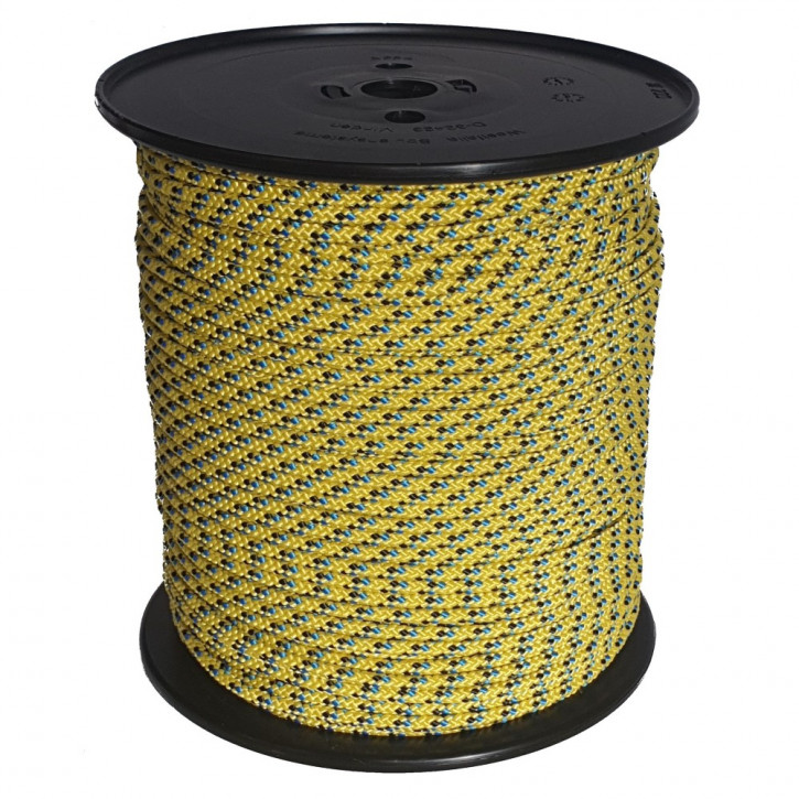 Corde technora TECBRAID ø5mm 16x tressée de Kanirope®