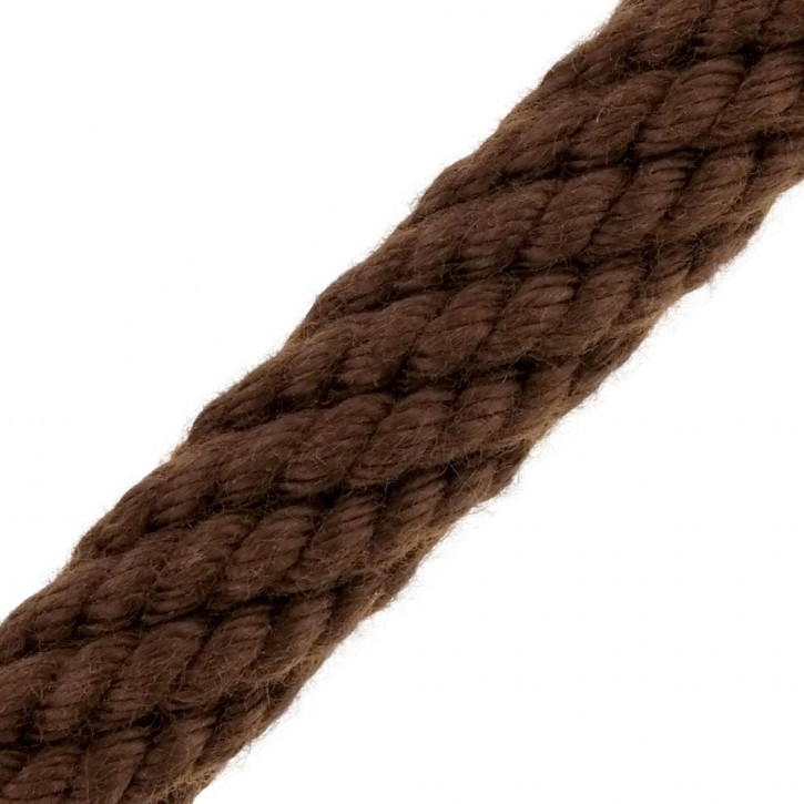 Barriere corde ACRYLIQUE marron de Kanirope®