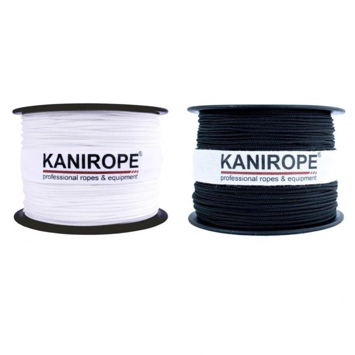 Corde polyester POLYBRAID ø1mm 12x tressée de Kanirope®