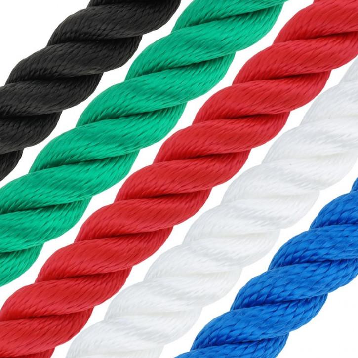 Corde polypropylène PP MULTITWIST ø4mm 3-torons torsadée de Kanirope®