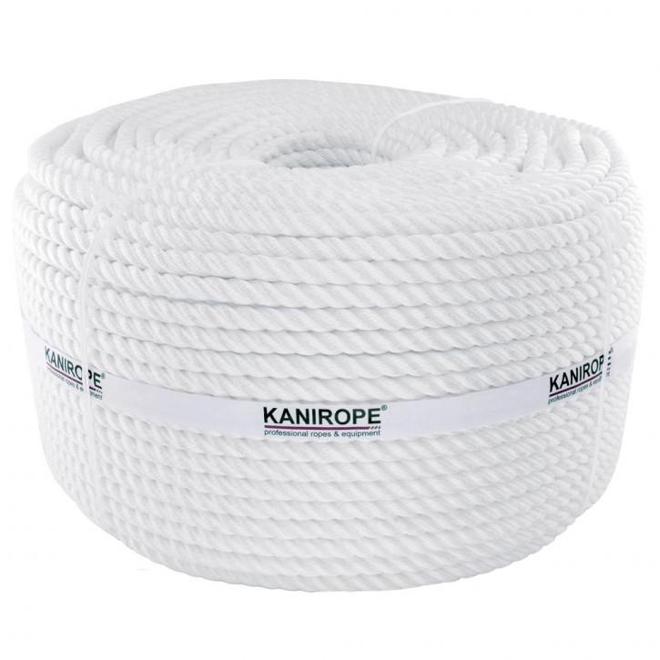 Corde polyamide PERLONTWIST ø6mm 3-torons torsadée de Kanirope®