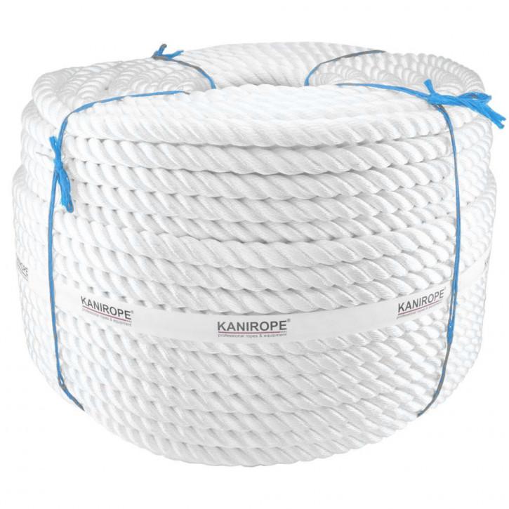 Corde polyamide PERLONTWIST ø20mm 3-torons torsadée de Kanirope®