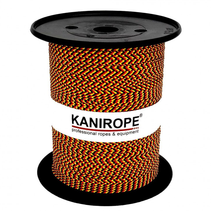 Corde polypropylène PP MULTIBRAID (Trikolore) ø3mm tressée de Kanirope®