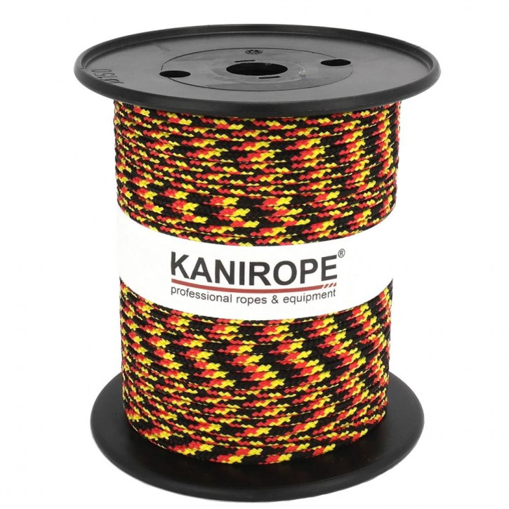 Corde polypropylène PP MULTIBRAID (Trikolore) ø4mm tressée de Kanirope®