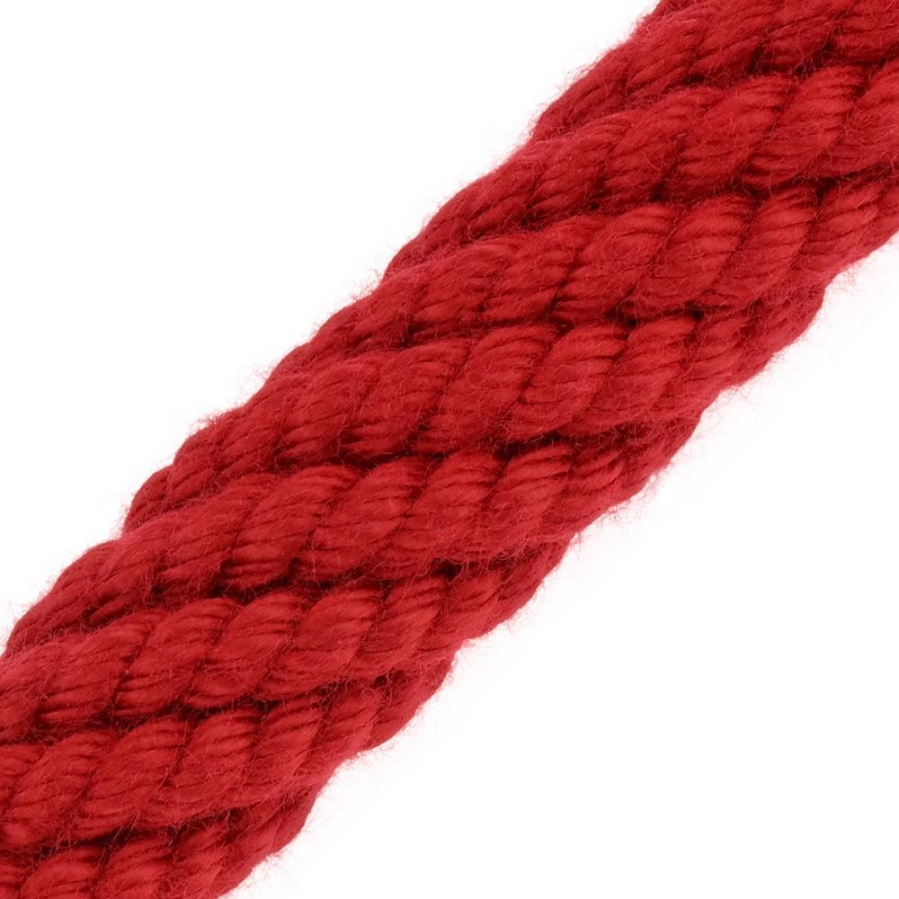 Main Courante Escalier Corde main courante acrylique rouge de kanirope®