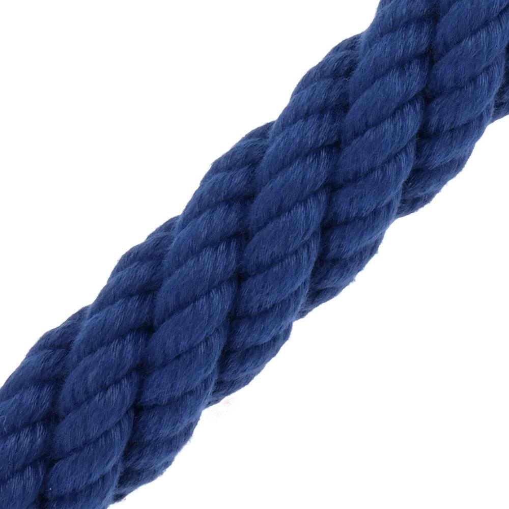 Main Courante Escalier Corde main courante acrylique bleu de kanirope®