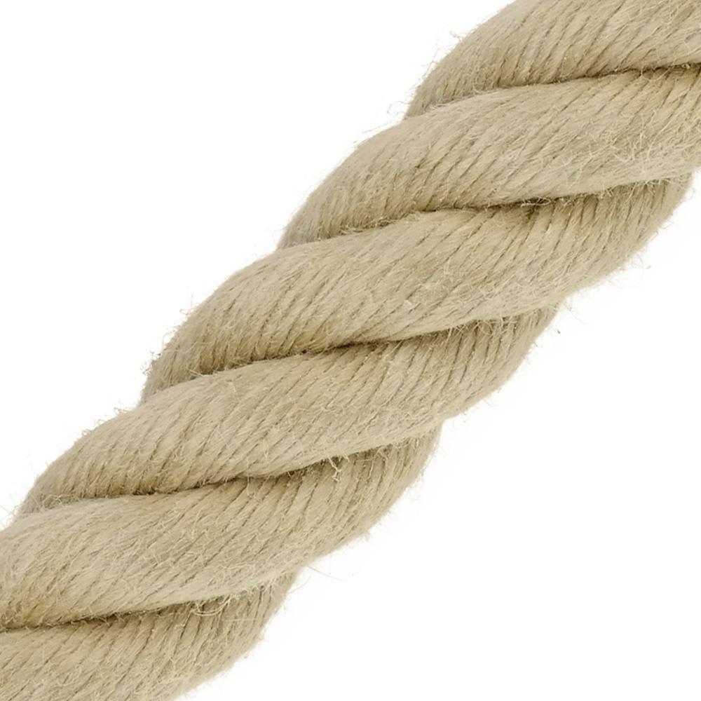 Main Courante Escalier Corde main courante spintwist beige de kanirope®