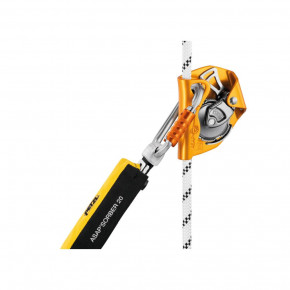Corde ASAP AXIS ø11mm avec terminaison cousue et dissipateur d'énergie de Petzl®