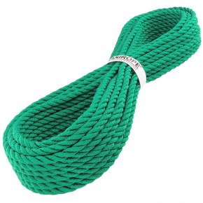 Corde polypropylène PP MULTITWIST ø14mm 3-torons torsadée de Kanirope®