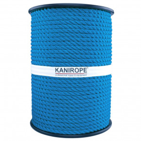 Corde polypropylène PP MULTITWIST ø8mm 3-torons torsadée de Kanirope®