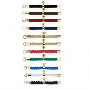 """Accessoires pour corde main courante """"Laiton brillant"""" de Kanirope®"""