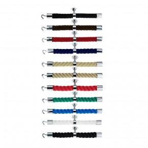 """Accessoires pour barriere corde """"Chromé brillant"""" de Kanirope®"""